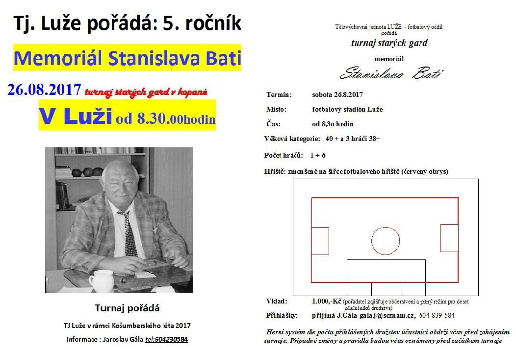 Memoriál Stanislava Bati