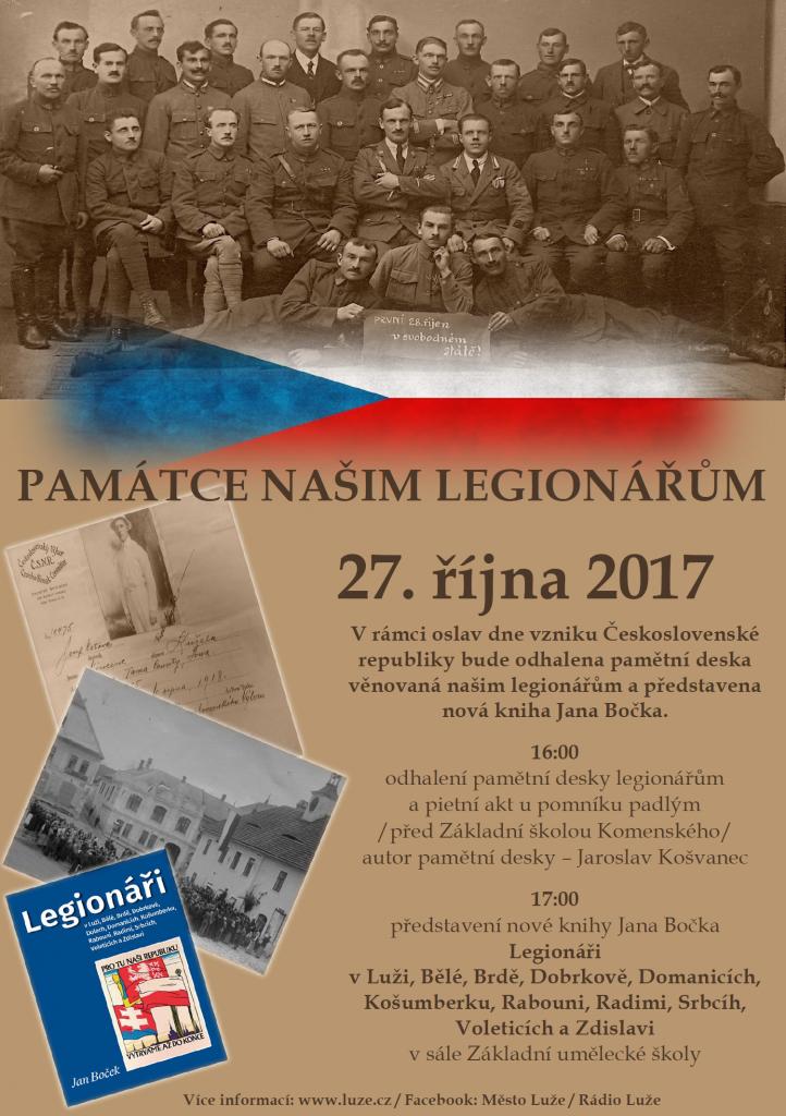 Památce našim legionářům