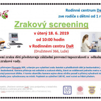 Zrakový screening