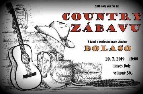 Country zábava Doly